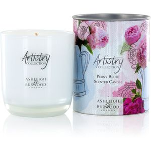 Ashleigh & Burwood Artistry Collection Scented Candle - Peony Blush