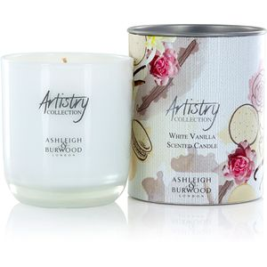 Ashleigh & Burwood Artistry Collection Scented Candle - White Vanilla