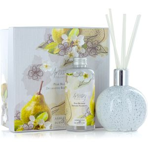 Ashleigh & Burwood Artistry Collection Reed Diffuser Gift Set - Pear Blossom