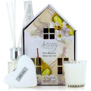 Ashleigh & Burwood Artistry Collection Home Fragrance Gift Set Pear Blossom