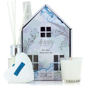 Ashleigh & Burwood Artistry Collection Home Fragrance Gift Set Sea Salt