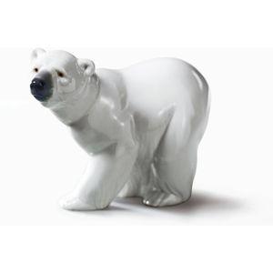 Lladro Polar Bear Figurine