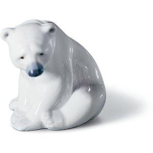 Lladro Seated Polar Bear Figurine