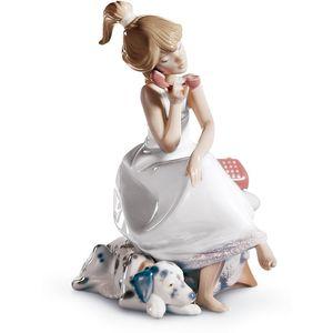 Lladro Chit - Chat Figurine