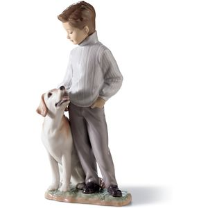 Lladro My Loyal Friend Figurine