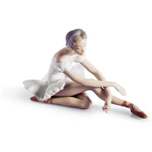 Lladro Rose Ballet Figurine