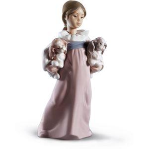 Lladro Arms Full of Love Figurine
