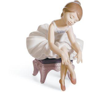 Lladro Little Ballerina Figurine