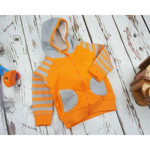Blade & Rose Orange Stripe Hoodie