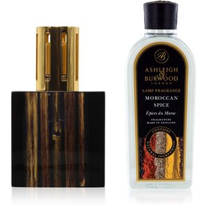 Fragrance Lamp Gift Set Midnight Bamboo & Moroccan Spic