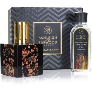 Ashleigh & Burwood Fragrance Lamp Gift Set - Rose Gold & Moroccan Spice