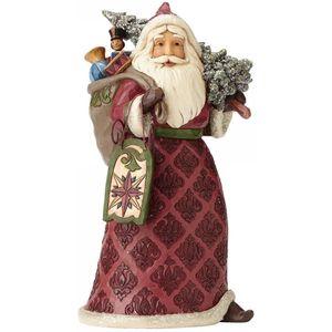 Heartwood Creek Santa Figurine Victorian Santa