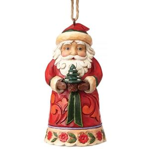 Heartwood Creek Mini Santa Hanging Ornament