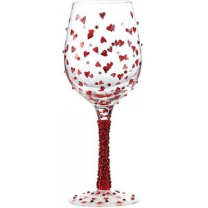 Lolita Red Hot Glass Wine Glass