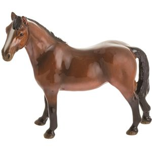 John Beswick Riding Pony Bay Figurine