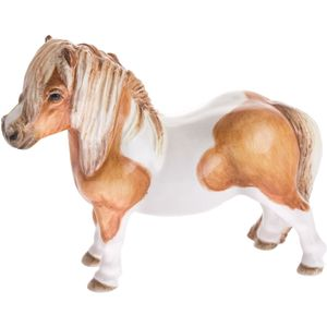 John Beswick Shetland Pony Skkewbald Figurine