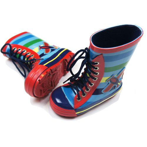 Plane Collection - Wellington Boots - Size UK 3