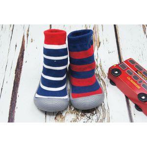 Blade & Rose Blue Stripe Sock Shoes