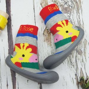 Blade & Rose Giraffe Collection Sock Shoes