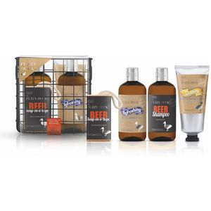 Fuzzy Duck Mens Wire Basket Gift Set