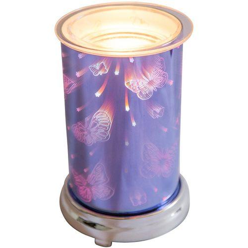 Cello Electric Wax Melt Burner: Harmony Blue 3D Butterflies