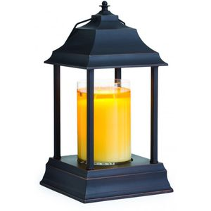Carriage Candle Warmer Lantern - Bronze