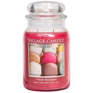 Village Candle French Macaroon 26oz Large Jar