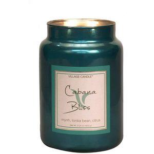Village Candle Cabana Bliss 26oz Metallic Jar