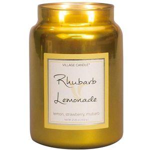 Village Candle Rhubarb Lemonade 26oz Metallic