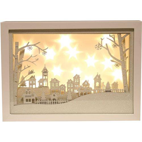 LED Xmas Window Scene - Urban Straits