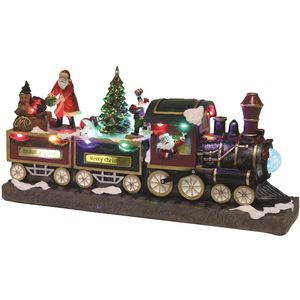 LED Musical Santa Express Christmas Train