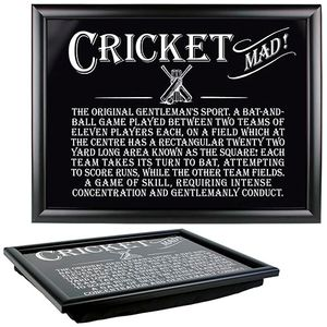 Ultimate Man Gift Lap Tray - Cricket Mad