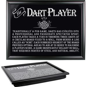 Ultimate Man Gift - Dart Player Lap Tray