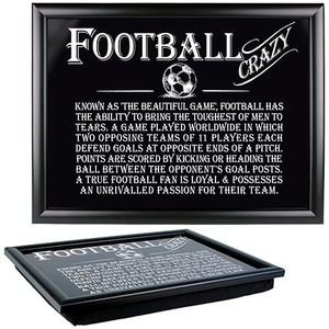 Ultimate Man Gift Lap Tray - Football Crazy