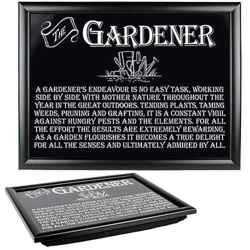 Ultimate Man Gift Ultimate Man Gift - Gardener Lap Tray