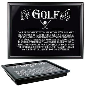Ultimate Man Gift Lap Tray - The Golf Addict