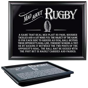 Ultimate Man Gift Lap Tray - Mad About Rugby
