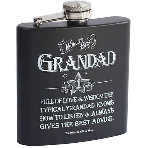 Ultimate Man Gift - Grandad Hip Flask