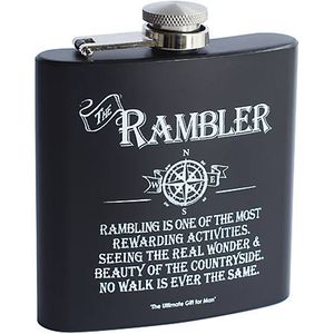 Ultimate Man Gift Hip Flask - The Rambler