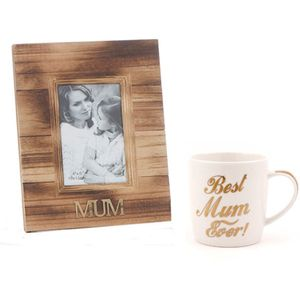 Mum Gift Set: Photo Frame & Mug