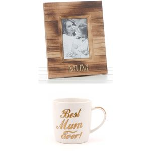 Mum Photo Frame & Mug Gift Set