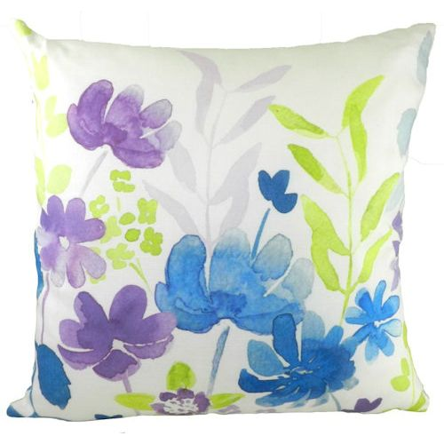 Evans Lichfield Blooms Collection Filled Cushion: Abstract Floral 43cm