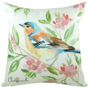 British Birds Chaffinch Cushion Cover 17x17""