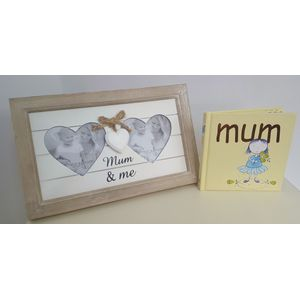 Mum Gift Set: Mum & Me Photo Frame with Book