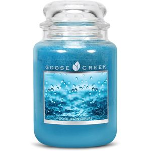 Goose Creek Large Jar Candle - Cool Rain Drops