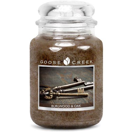Goose Creek Burl & Oakwood Large Jar