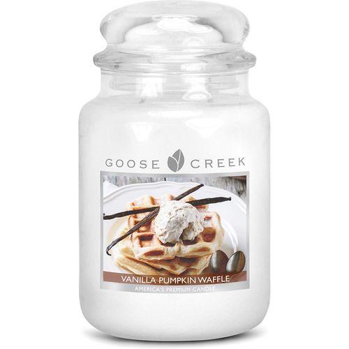Goose Creek Vanilla Pumpkin Waffle Large Jar