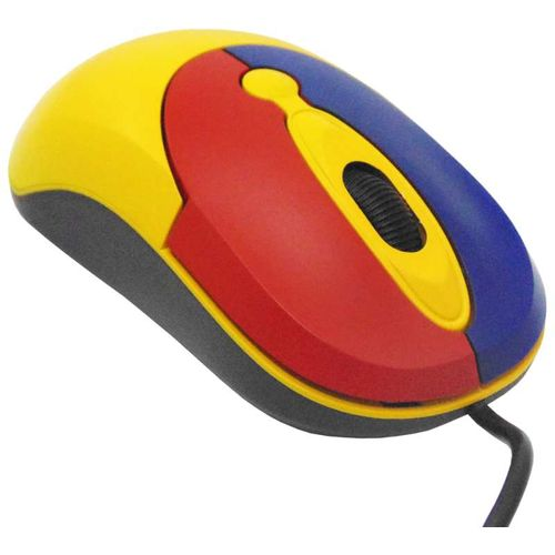 Childrens Computer Starta Mouse USB Yellow - Small Size