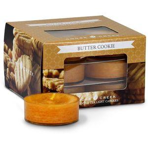 Goose Creek Tea Lights 12 Pack - Butter Cookie