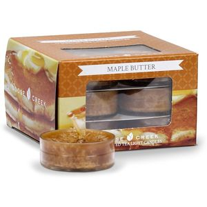 Goose Creek Tea Lights 12 Pack - Maple Butter